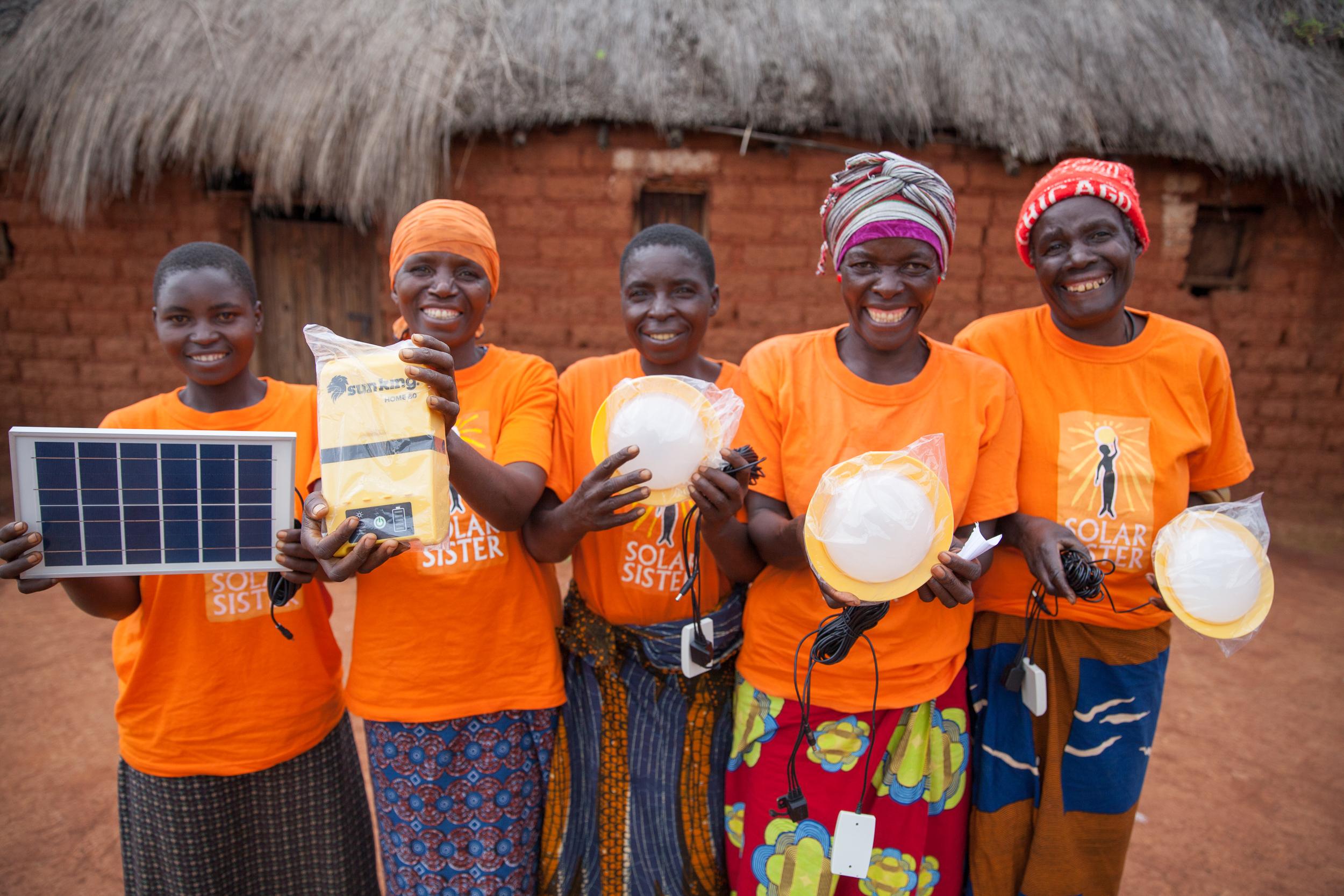 women entrepreneurs group Tanzania